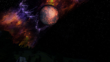 Oblivion Enhanced Night Sky