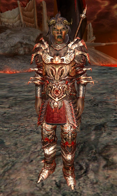 Arena Fan - Converted to elite dremora lord.