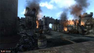 Image result for ruins of kvatch