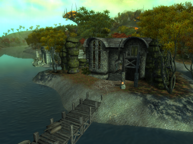 Emean Retreat - A Peaceful Shivering Isles Home