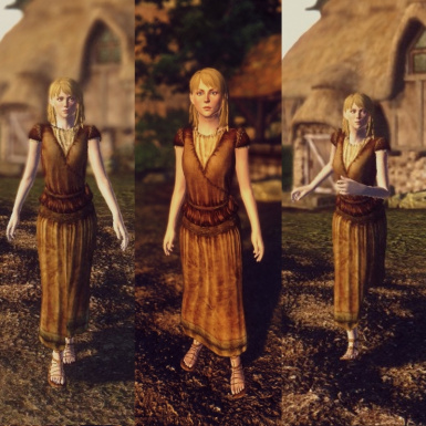 Feminized Idle Walk Run Animations for NPCs