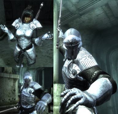 Ancient Silver Armor Reloaded