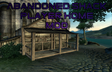 Abandoned Shack Player Home