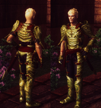Elven armor replacer