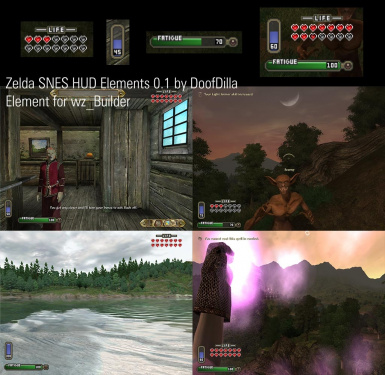 Zelda SNES HUD Elements at Oblivion Nexus - mods and community