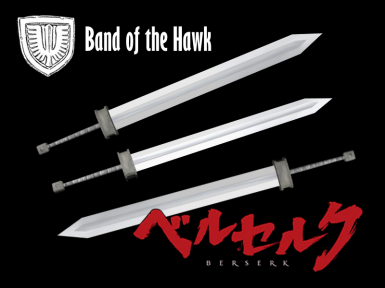 Berserk - Guts Broad Sword (Band of the Hawk)
