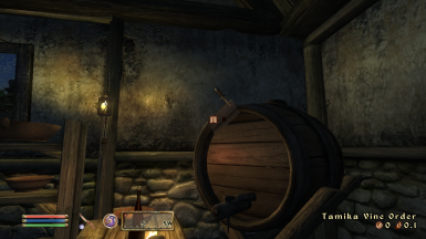 Only Tamika is allowed to store something in here! (Vine Barrel respawning)
