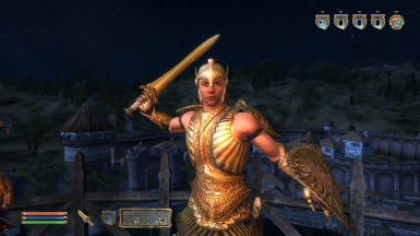 Bound Regalia: Ethereal Gladiator - Sword Stance