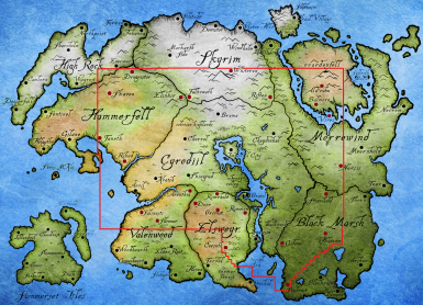 City locations beyond Cyrodiil A MODDERS GUIDE