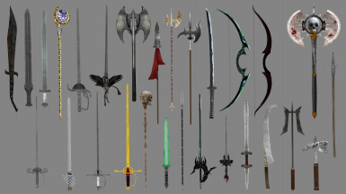 Immersive weapons OMOBSIZED for OOO