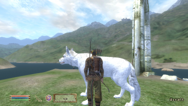 The White Wolf Follower and mini-home