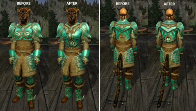 Female Glass Cuirass Replacer