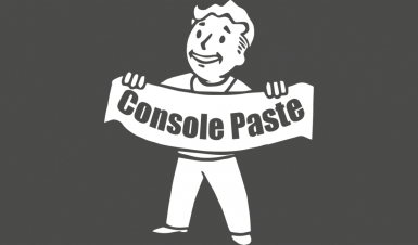 Console Paste Support