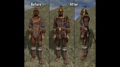 Female Fur Cuirass Replacer