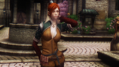 Triss Outfit from The Witcher 3