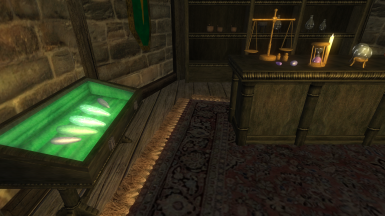 4 - Skyrim Textures at Chorrol Mages Guild