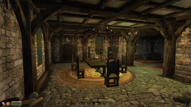 Guild halls now have eating areas