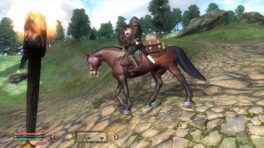 Horse Utilities - Saddlebags - Tracking - Horse Armor DLC compatible