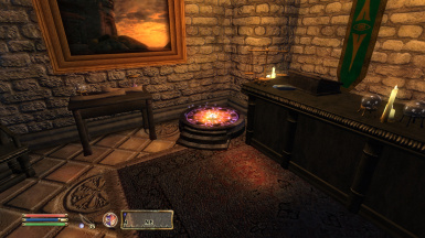 Mages Guild Portal in the Anvil Guild Hall