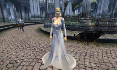 Recommended Mod Veil and Dress by Nailflan