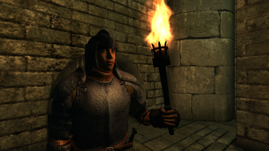 Medieval Torch by mathy79