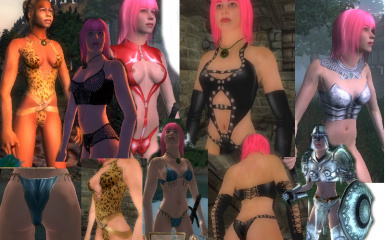 Eshmes Female Bodies and Clothes Version2