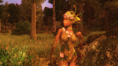 Queen of the forest - A Spriggan Retexture