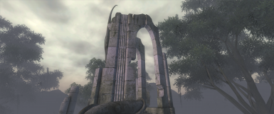 Atatar Exterior. Location from original game, note the lack of gaps at the top of the arch