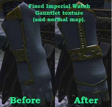 Fixed Texture for Imperial Watch Gauntlet