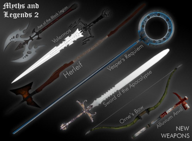 Myths and Legends  Weapons 2