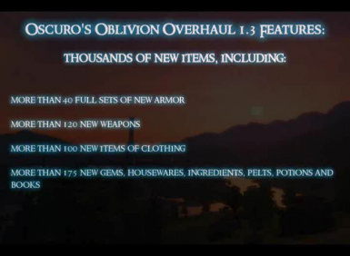 Oscuros Oblivion Overhaul 13 Full Trailer