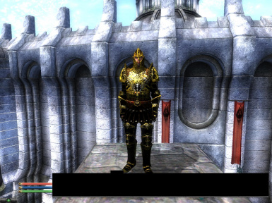 Black Dragon Armor Golden Edition MALES ONLY