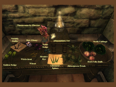 Morrowind Ingredients