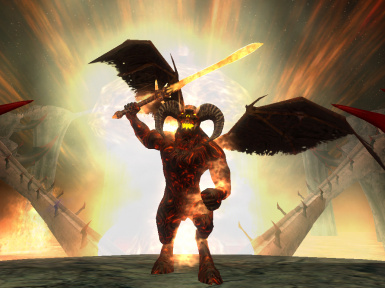 Balrog in Hell