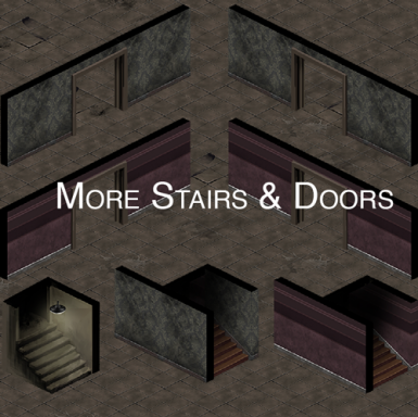 More Stairs and Doors