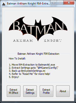 Batman Akrham Knight RM-Extraction