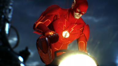 THE FLASH Skin Mod