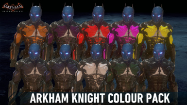 Arkham Knight Colour Pack