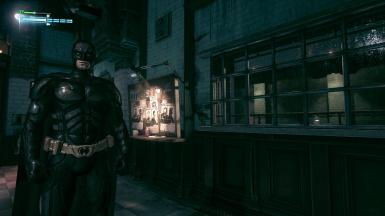 darker Dark Knight Batsuit