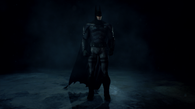 The Batman 2022 suit (over the Original Asylum suit) Read Description