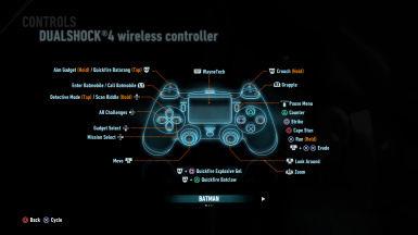 Dualshock (Playstation) Button icons