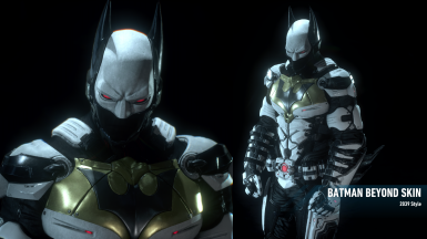 White Batman Beyond 2039