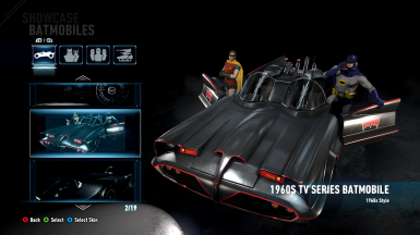 All DLC Batmobiles Unlocked and Can Be Used Throughout Story mode