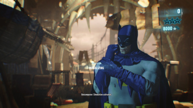 Adam West Batsuit (No Mesh Swapping)