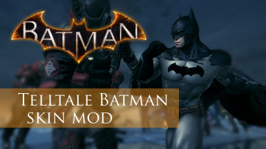 Telltale Batman suit mod (use with resorep)