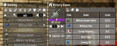 NiQui's Tier 6 Crafting for Alpha 19