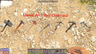 Melee Weapon and Tool Overhaul