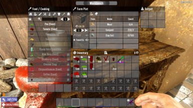 Farm Plot Modified Crafting Cost