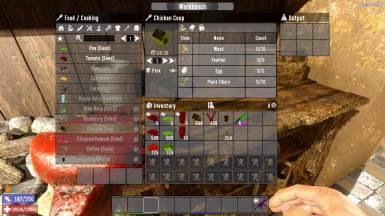 Chicken Coup Crafting Cost