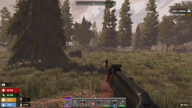 HUD update-Add Food and Water bars-Alpha17
